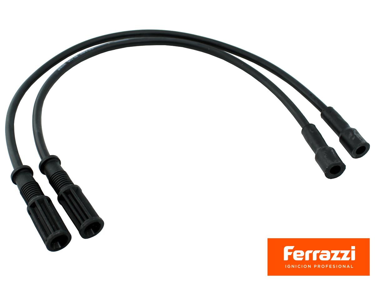 JUEGO DE CABLES DE BUJIA 8mm. COBRE PARA CITROEN 2CV, 3CV, AMI 8