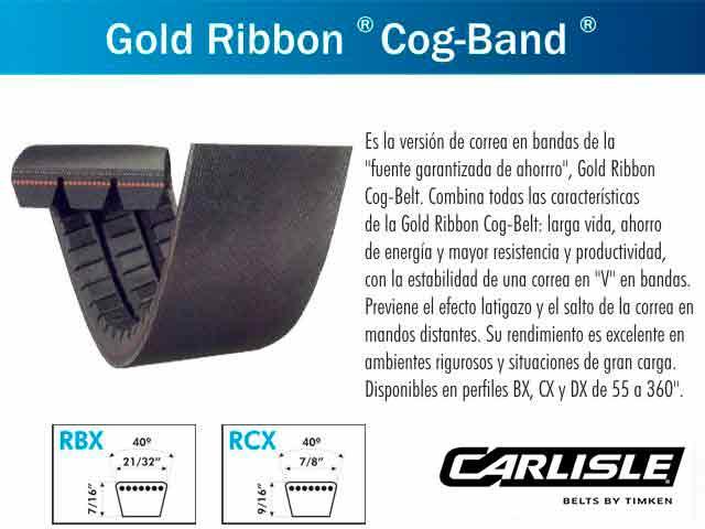 CORREA AGRICOLA (RBX-116-5) PRIMARIO BATIDOR PARA AGCO ALLIS 550 - 560